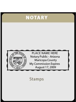 Notary (Rectangle)-AZ
