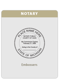 MI-Notary Embosser