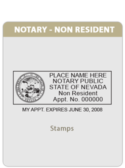 NV-Notary - Non-Resident